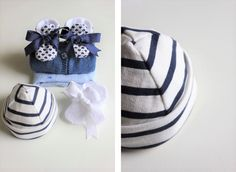 DIY Bonnet de naissance (patron téléchargeable) – Les Enchantées Baby Couture, Couture Sewing, Baby Sewing Projects, Arts And Crafts, Diy Crafts, Chic Baby, Christmas Baby, Baby Shoes, Pattern