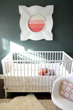 Ikea crib review! love the petite and modern look. Would be great for small nursery! and it is inexpensive!  HOUSE*TWEAKING