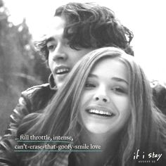 That special, out-of-this-world, Mia+Adam kind of love.                 Show us your If I Stay fan art inspired by the theme Live For Love for the chance to win prizes including a trip to the Hollywood premiere! http://ifistaymovie.com/fanart
