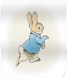 Peter Rabbit By Beatrix Potter Poster