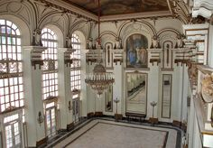 Room of Mirrors at the former presidential palace (now Museo de la Revolución) in Havana | by Peter Q