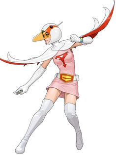 Of the 102287 characters on Anime Characters Database, 3 are from the anime Science Ninja Team Gatchaman. Cultura Pop, Costume Super Hero, Comic Books Art, Comic Art, Manga Anime, Battle Of The Planets, Star Art, Anime Comics, Game Character