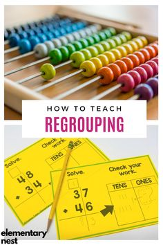 Learn more about teaching regrouping strategies in this grade math unit. There are anchor charts, activities, and other strategies to help students learn how to fluently add and subtract using regrouping strategies based on place value and operations. Teaching Second Grade, 2nd Grade Teacher, Second Grade Math, Teaching Math, Grade 2, Student Learning, Place Value Activities, 2nd Grade Activities, 2nd Grade Math Games