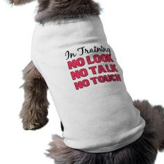 In Training Girl's Shirt Pet Tee