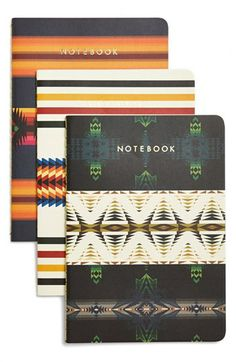 Chronicle Books 'Pendleton' Journals (Set of 3) | Nordstrom
