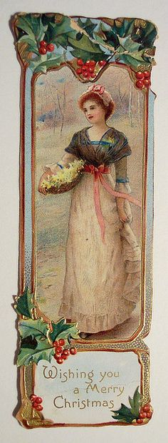 Vintage Christmas Card and Bookmark | Flickr - Photo Sharing!