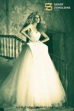 If you aspire for a perfect magical wedding, wear one of the pieces from SHADY ZEINELDINE wedding collection