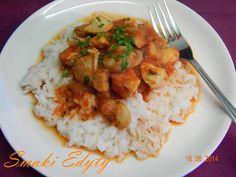 Smaki Edyty: Dietetyczny kurczak curry