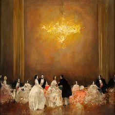 Ball Scene - Walter Heimig