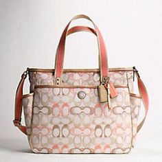 I hope I can find a couple of cheap diaper bags at the coach outlet for my expecting friends!