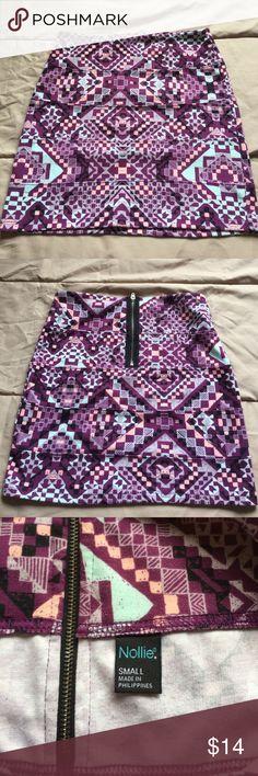 Pacsun Pencil Skirt S Cute, Aztec Nollie Pencil Skirt from Pacsun Nollie Skirts Pencil