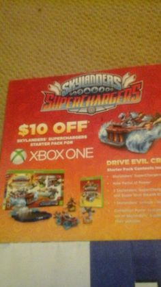 Skylanders SuperChargers $10 Off Coupon (Xbox One)