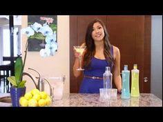Be Tini Lemon Cake Instructional Video #BYOBeTini #recipe #lowcalorie #drink #martini #vodka #BeTini