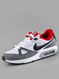 Nike Air Max Span White Black Gym Red Cool Grey  #Nike #AirMax #Sneakers #Sneaker #Schuhe #NikeAirMax