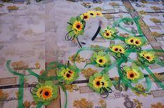 Sunflowers bachelorette party - Addio al nubilato con girasoli