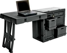 The Pelican 472 Field Desk is a single unit mobile office ready for any situation.