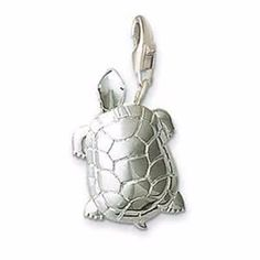 Silver Plated Sea Turtle TS Charms Pendants Fit Necklaces Bracelets Bags, Bijoux Thomas Style Charm Jewellery Gift For Women Men #Affiliate