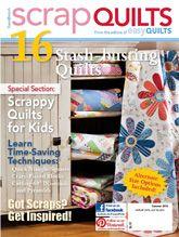 Easy Quilts Scrap Quilts 2012 from ShopFonsandPorter.com