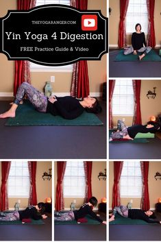 FREE 30 Min Yin Yoga for Digestive Health - Full Practice Guide & Video