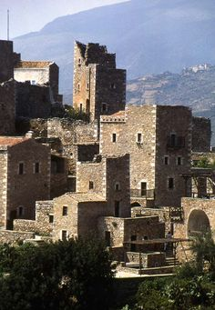 Mani Towers, Mani, Lakonia, Greece Copyright: Phil Simmonds