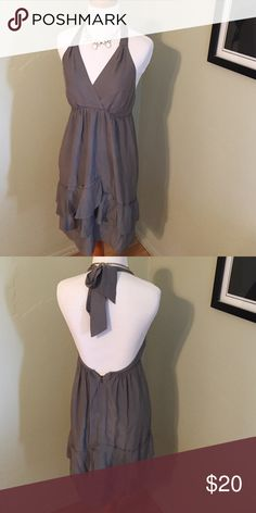 Silk Banana Republic Dress Size 0. Silk halter dress in perfect condition. Banana Republic Dresses