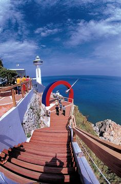 Yeongdo Lighthouse, Taejongdae, Busan