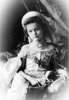 Grand Duchess Tatiana Nikolaevna Romanova of Russia at her brother's christening.A♥W