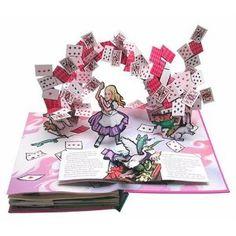Alice in Wonderland pop-up book by Robert Sabuda