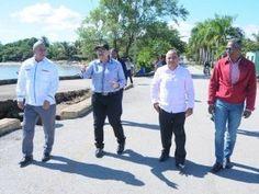 Diputados fiscalizan condiciones muelle Sabana de la Mar