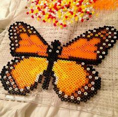 Schmetterling aus Bügelperlen