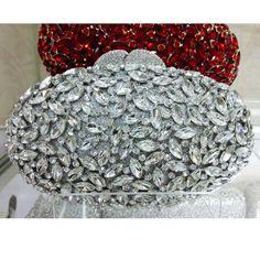 Oval Rugby Luxury Evening Clutch Bags Handcraft Crystal Clutch Purse Diamante Women Party_7     https://www.lacekingdom.com/