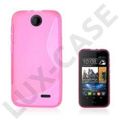 Lagerlöf (Pink) HTC Desire 310 Cover Purple, Pink, Cover, Purple Stuff, Roses