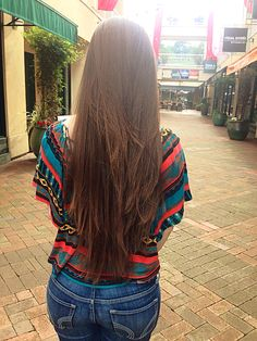 Long hair with layers!