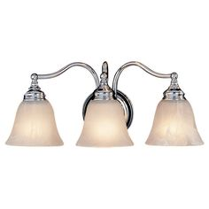 View the Murray Feiss VS6703 Bristol 3 Light Bathroom Vanity Light at LightingDirect.com.