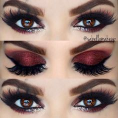 Beautiful eyes make up – # Beautiful - Makeup Tutorial Smokey Prom Makeup, Cute Makeup, Pretty Makeup, Wedding Makeup, Smokey Eye Makeup, Skin Makeup, Eyeshadow Makeup, Eyeliner, Eyeshadow Palette