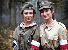 Polish Home Army. Polish Girls, Recital, Blond, Military Jacket, Sports, People, Beauty, Beautiful, Women