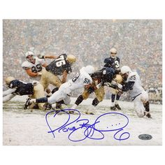 Steiner Sports Jerome Bettis 16'' x 20'' Signed Photo, Multicolor