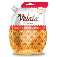 Velata - Fun Fondue, Carmamel Milk Chocolate!