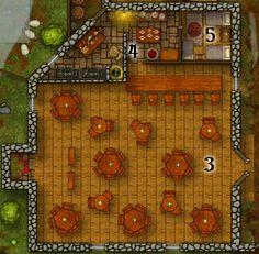 Slipshod Tavern, Kitchen and Inkeeper's Quarters