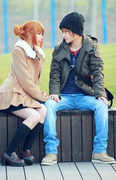 Lovely Complex cosplay ugh so cute