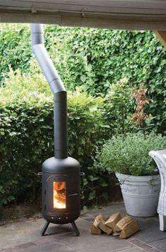 Burnies Classic Veranda 2 x 45 en 3 x 50 cm Outdoor Rooms, Outdoor Living, Outdoor Decor, Back Gardens, Outdoor Gardens, Gas Bottle Wood Burner, Dream Garden, Home And Garden, Garden Bed
