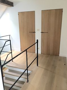 "Eiken binnendeuren ""Allure"" www.deplankerij.be"