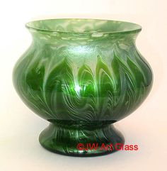 Titania Vase    Manufacturer:  Johann Loetz Widow, Austria