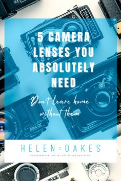 Not sure what lenses you need? Check out my handy guide for the 5 Camera Lenses You Absolutely Need in your camera bag. Don't leave home without these! Lenses, Education, Digital, Bag, Check, Onderwijs, Learning, Bags