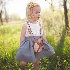 Grey Organic Skirt