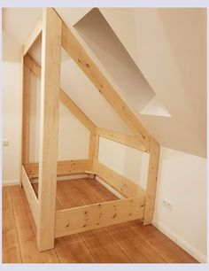 bed roof pitch Bring nature into the house: 16 DIY craft ideas with branches - Page 3 of 16 - DI . OTHERS on House bed roof pitch Attic Bedroom Decor, Attic Bedrooms, Attic Bathroom, Bathroom Plumbing, Bedroom Ideas, Pink Bedrooms, Bedroom Small, Remodel Bathroom, Small Bathroom