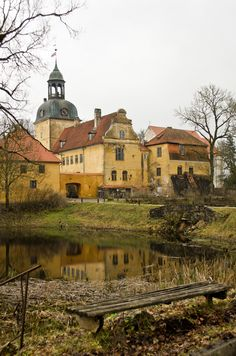 Beautiful old castle in Latvia