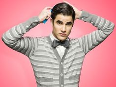 Darren Criss; Words can't explain how much I love his sweater & bow tie.  Oh... and him. Lol. <3 <3