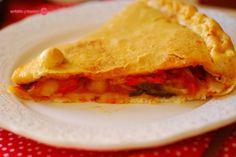 Empanada de verduras asadas. | Cuchillito y Tenedor