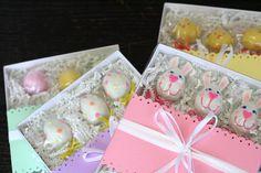 Easter Cake Pops Gift Boxes by Sweet Lauren Cakes, via Flickr